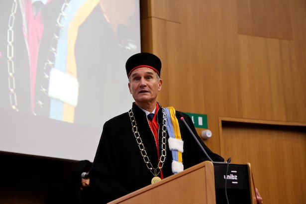 Rektor Walter Lorenz