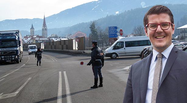 Die Einfahrt ins Gadertal, BM Martin Außerdorfer
