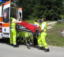 Radfahrer gestürzt