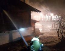 Brand im Ferienhaus