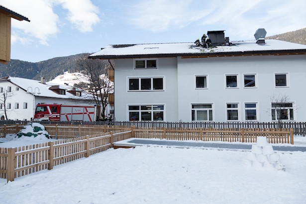 Die Firma Zacher in Innichen (Fotos: FF Innichen)