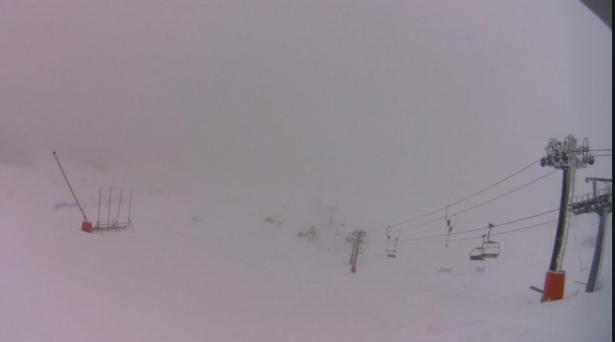 Das Skigebiet Campo Felice (Foto: Campo Felice Webcam).