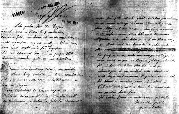 Gostner-Brief