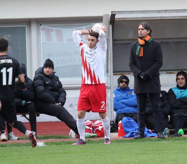 Davide Martinelli im Spiel gegen Venedig