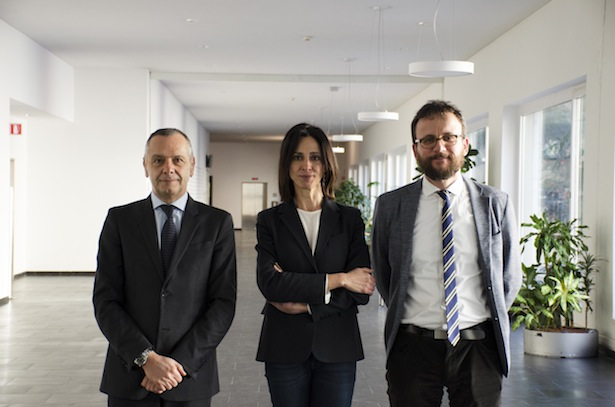 Marco Gobbetti, Raffaella Di Cagno und Emanuele Boselli (v.l.n.r.)