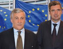 Tajani kommt nicht