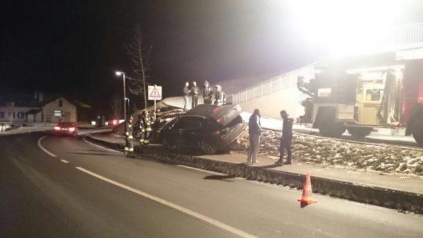 Der Unfall (Foto: FF St. Christina)
