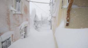 Der Schnee-Wahnsinn