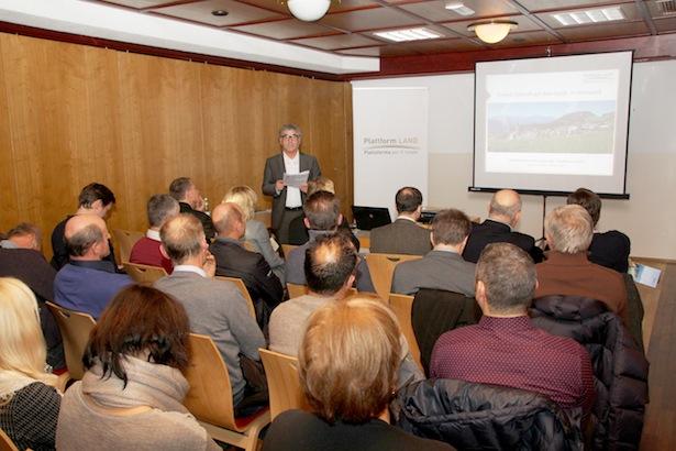 Plattform Land-Sprecher Andreas Schatzer sprach über Kooperationen aus Sicht der Gemeinden