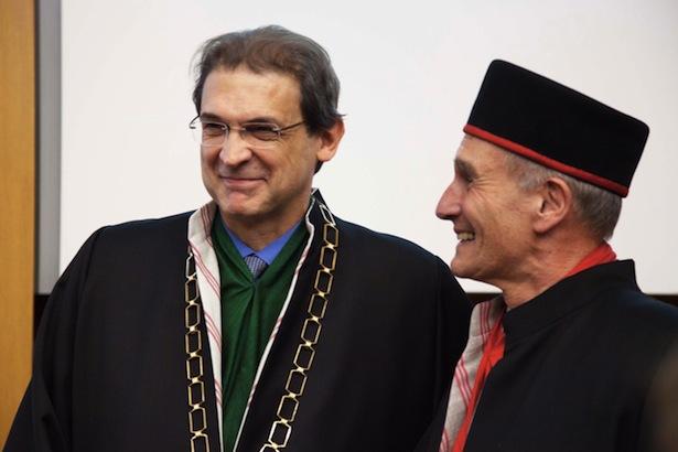 Paolo Lugli mit Walter Lorenz