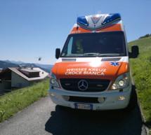 Crash in Deutschnofen
