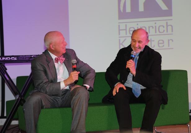 Ehemalige Direktoren unter sich: Joe Podgorski mit Gottlieb Pomella.