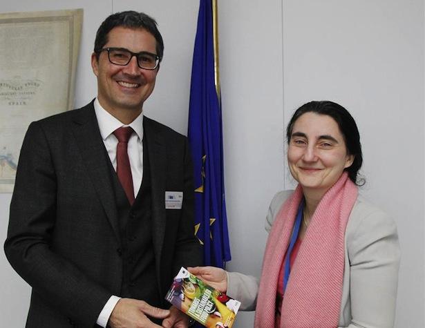 LH Kompatscher mit Elisabetta Siracusa