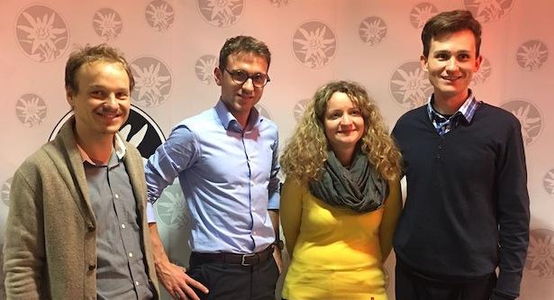 Julian Stuffer, Stefan Premstaller, Sonja Plank, Manuel Raffin
