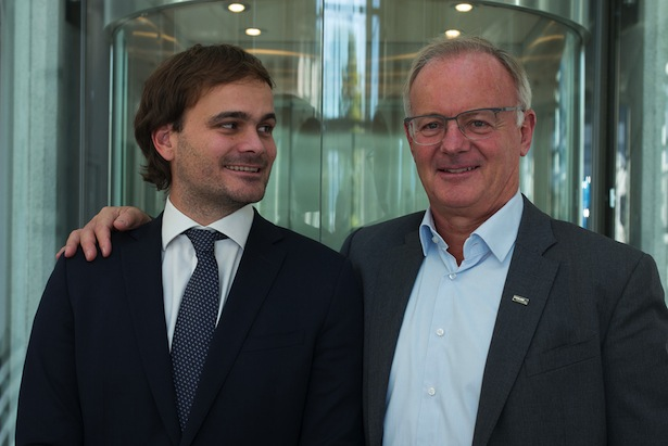 Hannes und Thomas Baumgartner