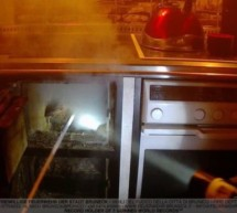 Rauch in der Küche