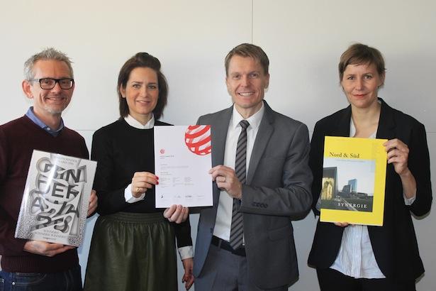 (v.l.n.r.) Thomas Kager, Birgit Mayr, Ulrich Stofner und Angelika Burtscher