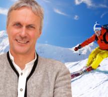 Skifahren statt Schneeschöpfen