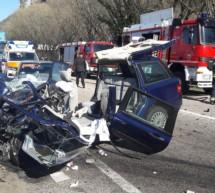 Frontaler Crash
