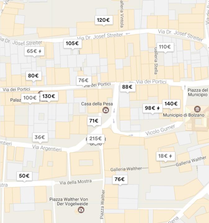 Bozner Altstadt auf Airbnb