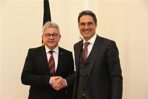 Minister Wolf mit LH Kompatscher (Foto: Lpa)