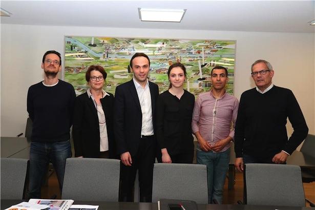Gianluca Battiste, Gertrud Verdorfer, Philipp Achammer, Vera Siller, Abdel El Abchi, Klaus Nothdurfter )