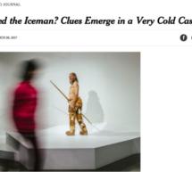 Ötzi in der New York Times
