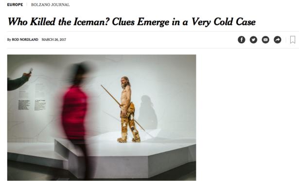 Der Bericht in der New York Times