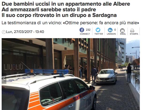 Screenshot: l'Adige
