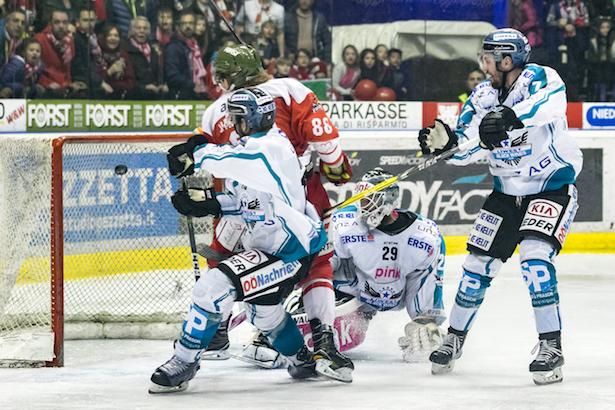 HC Bozen gegen Linz