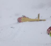 Helikopter abgestürzt