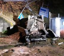 Crash in Andrian