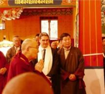LH beim Dalai Lama
