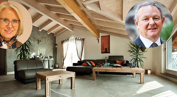 interior new loft, ethnic furniture, living room