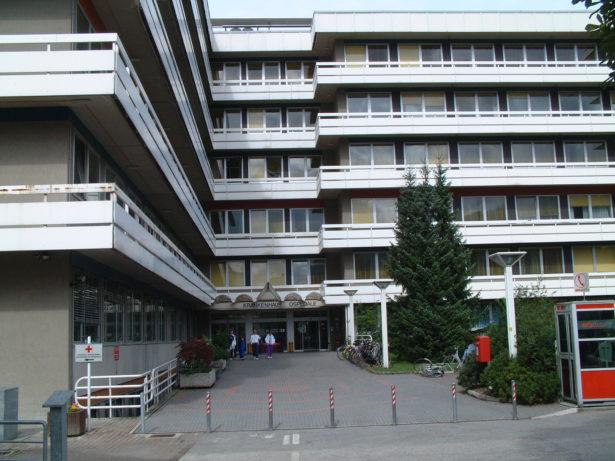 Das Krankenhaus in Bruneck