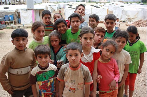 Syrische Kinder (Foto: Caritas)