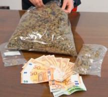 Marihuana im Rucksack