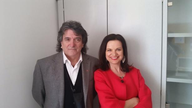 Agostino Accarino und Priska Auer
