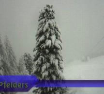 1 Meter Schnee