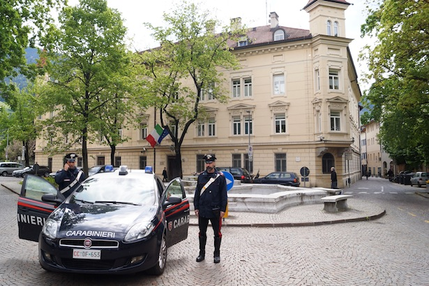 carabinieri brixen