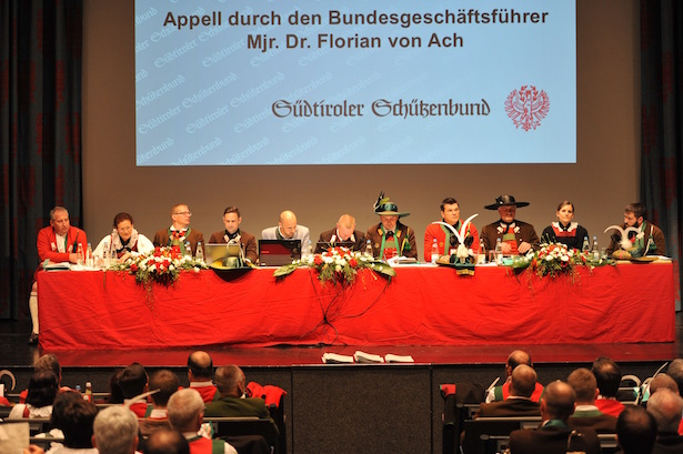 Die Bundesleitung des Südtiroler Schützenbundes