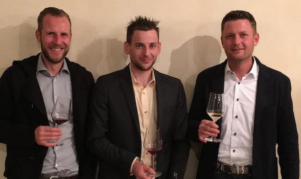 Die neue FWS-Führung (von links): Thomas Rottensteiner (Vizepräsident), Peter Robatscher (Direktor) und Hannes Baumgartner (Präsident).