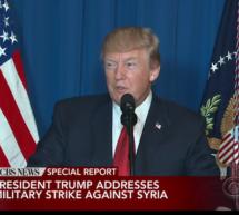 Trump bombardiert Syrien