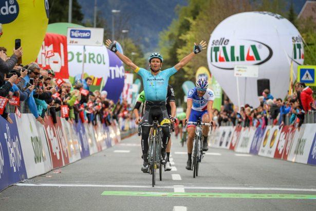 Michele Scarponis Sieg bei der Tour de Alps