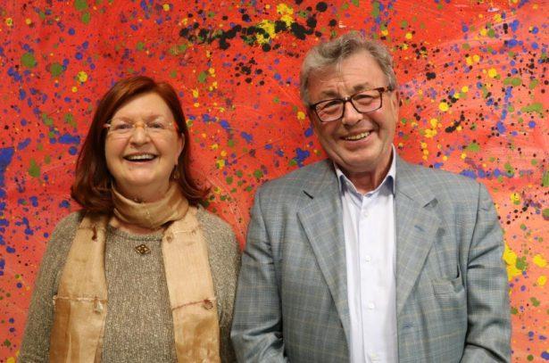 Hans Widmann und Elsa Noflatscher