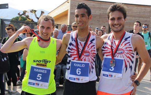 Rungger Hannes, Jbari Khalid und Bazzoni Gianmarco