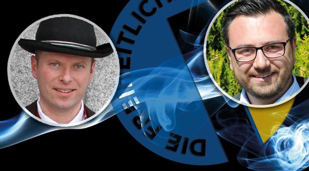 Florian von Ach und Andreas Leiter Reber