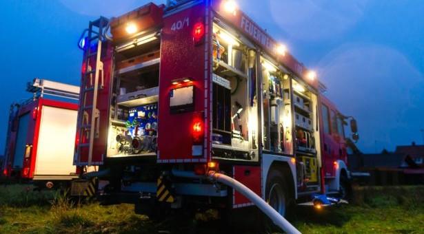 Balkonbrand in Milland