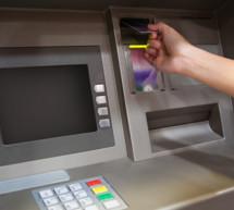 Anschlag auf Bankomat