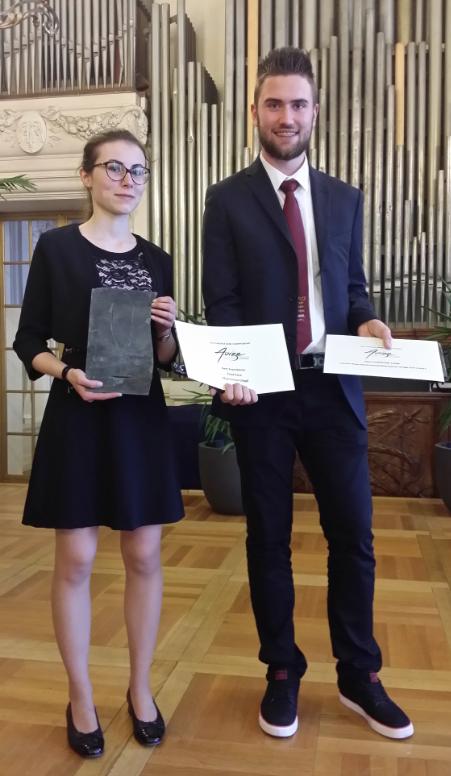 Maximilian Glöggl und Verena Brunner